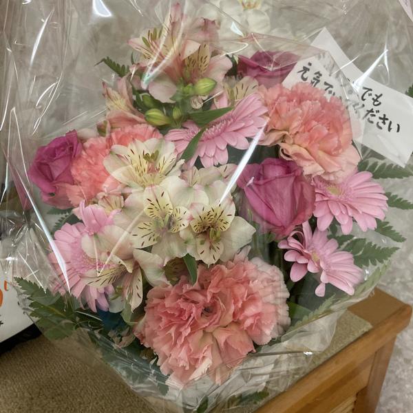 素敵なお花、ありがとうございます。